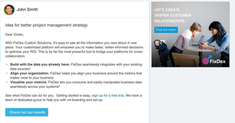 linkedin advertising with sponsored inmail