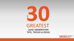 30 Greatest Lead Gen Tips