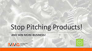 Webinar - Stop Pitching Products