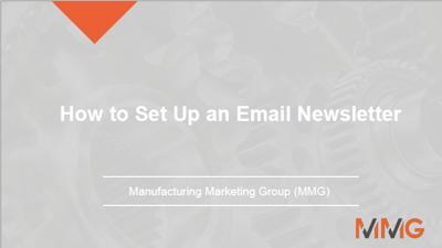 Webinar-email newsletter-slides