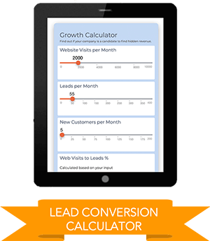 Lead conversion calculator