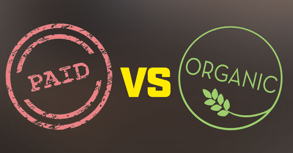 Paid Vs. Organic Marketing – Focus But Don't Limit